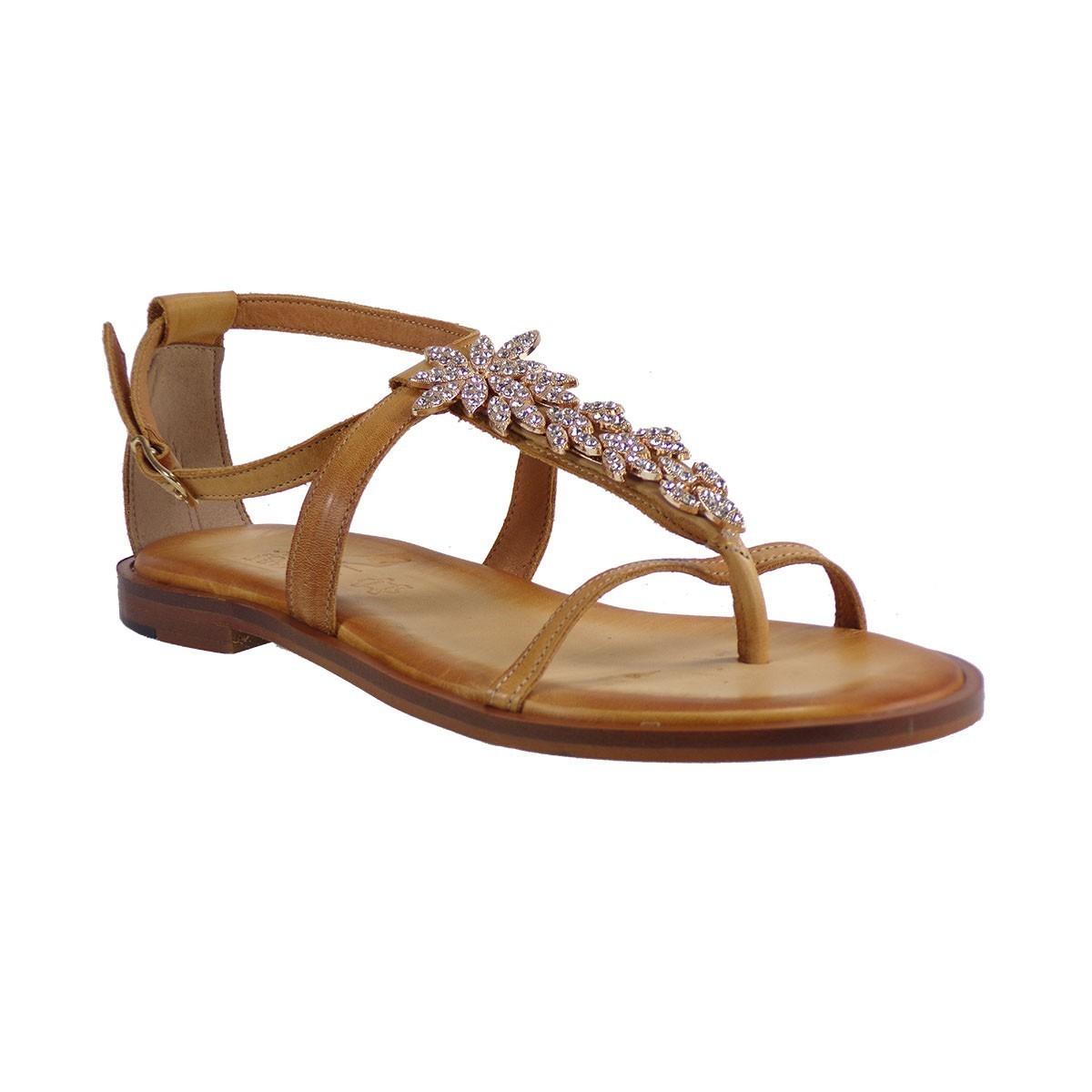 Smart Cronos Γυναικεία Παπούτσια Πέδιλα 6890-1991 Ταμπά Δέρμα