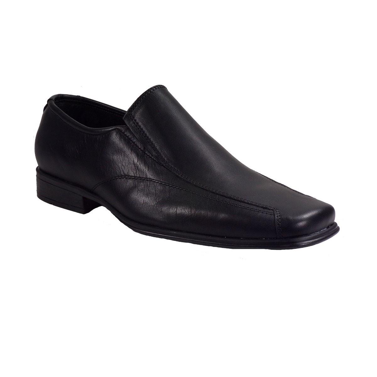 Vero Shoes Παπούτσια Αντρικά 76 Μαύρο Δέρμα
