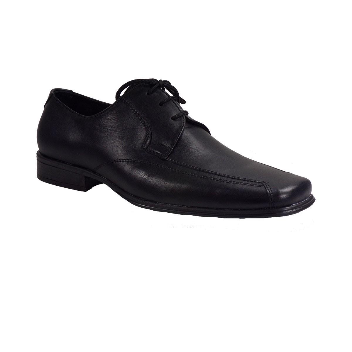 Vero Shoes Παπούτσια Αντρικά 75 Μαύρο Δέρμα