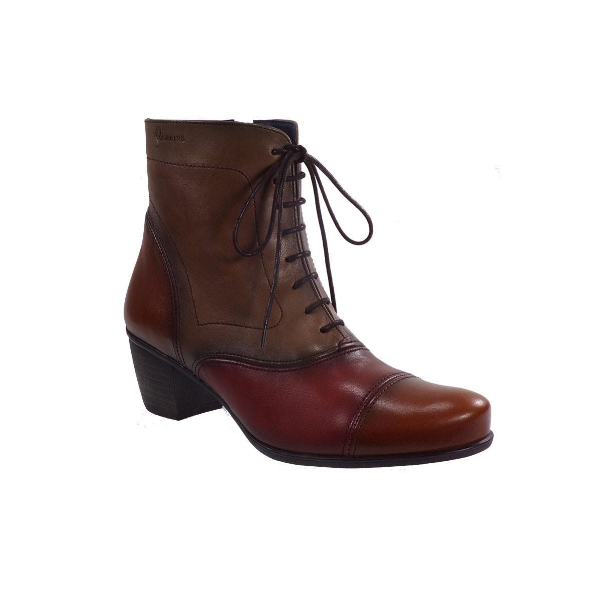 5340d98393b Dorking Γυναικεία Παπούτσια Μποτάκια D72555USSL Ταμπά Δέρμα |Γυναικεία &  Ανδρικά Παπούτσια - BagiotaShoes.gr