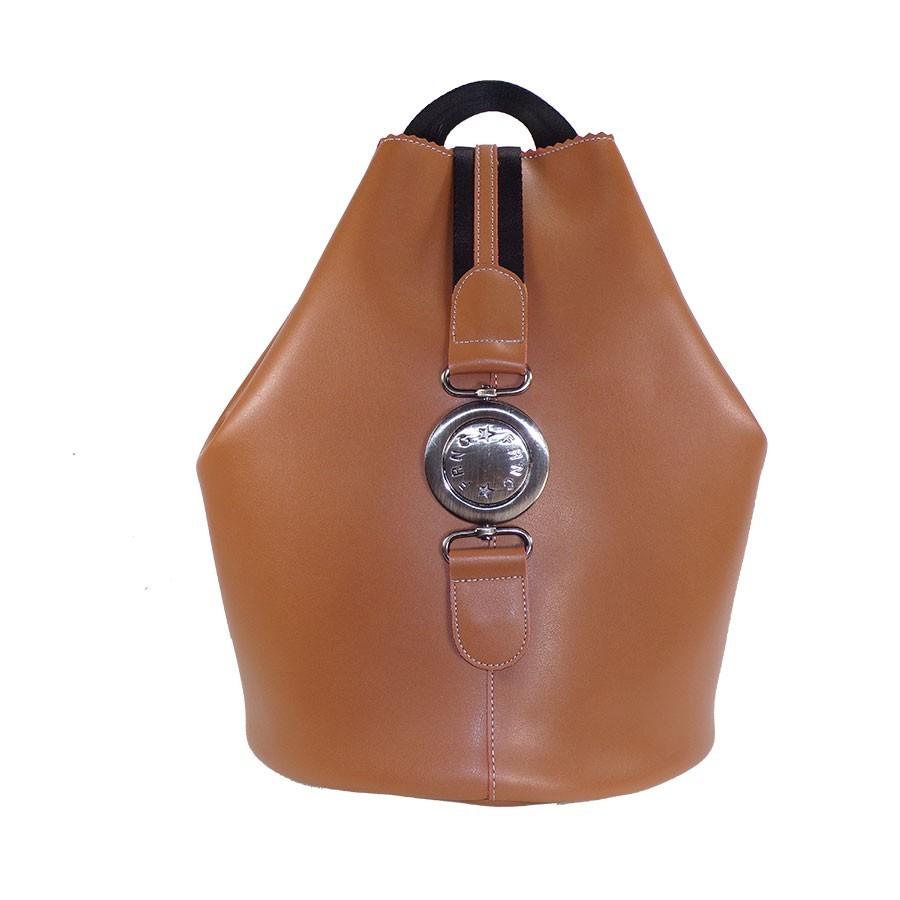 FRNC FRANCESCO Τσάντα Γυναικεία Πλάτης-Backpack 563 Ταμπά Δέρμα ... e4985701611