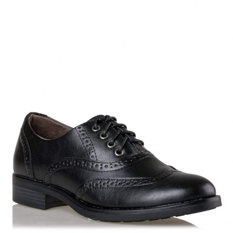 084a6dac609 Miss NV Γυναικεία Παπούτσια Oxfords V63-08800-34 Μαύρο |Γυναικεία & Ανδρικά  Παπούτσια - BagiotaShoes.gr