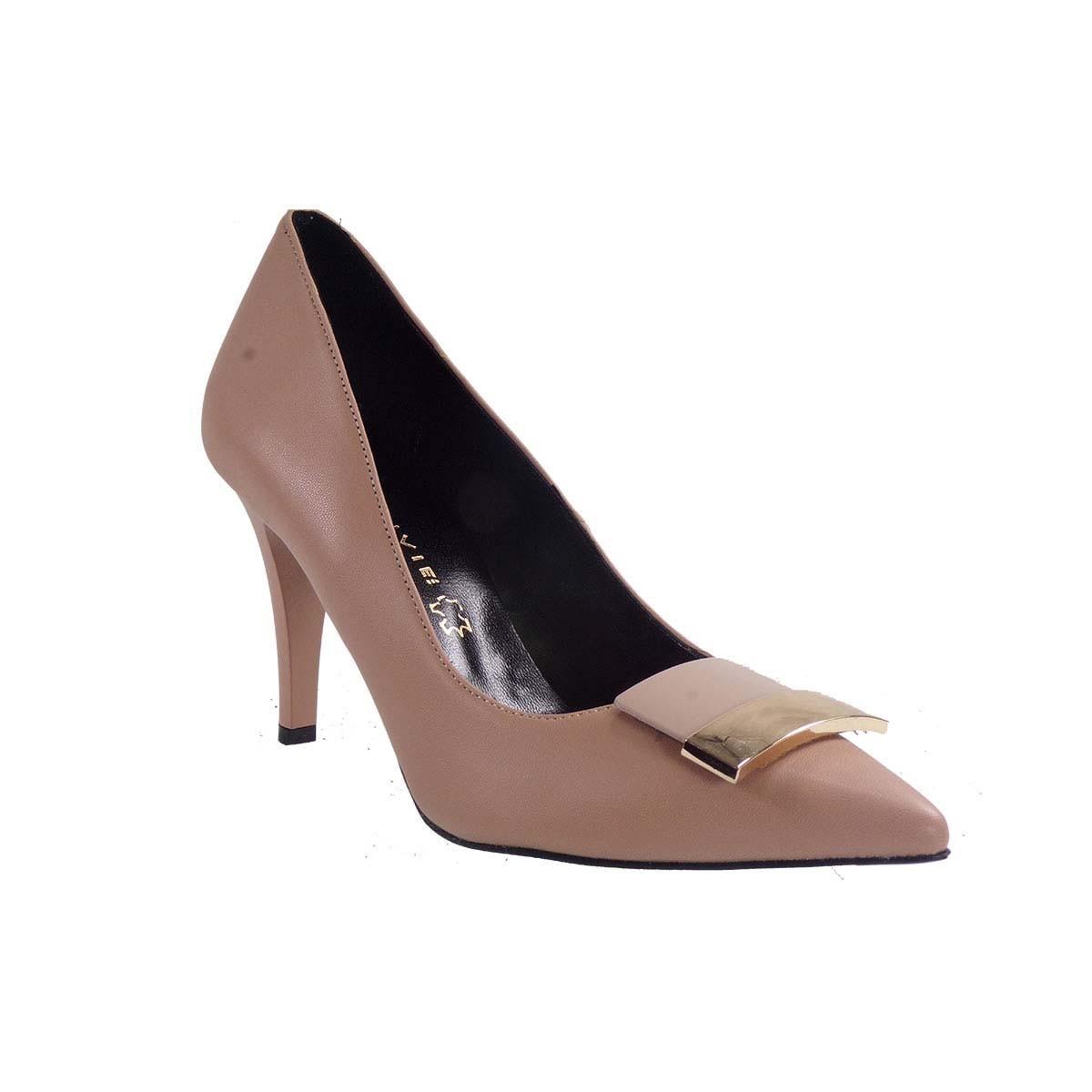 Envie Shoes Γυναικείες Παπούτσια Γόβες E02-08700 Nude