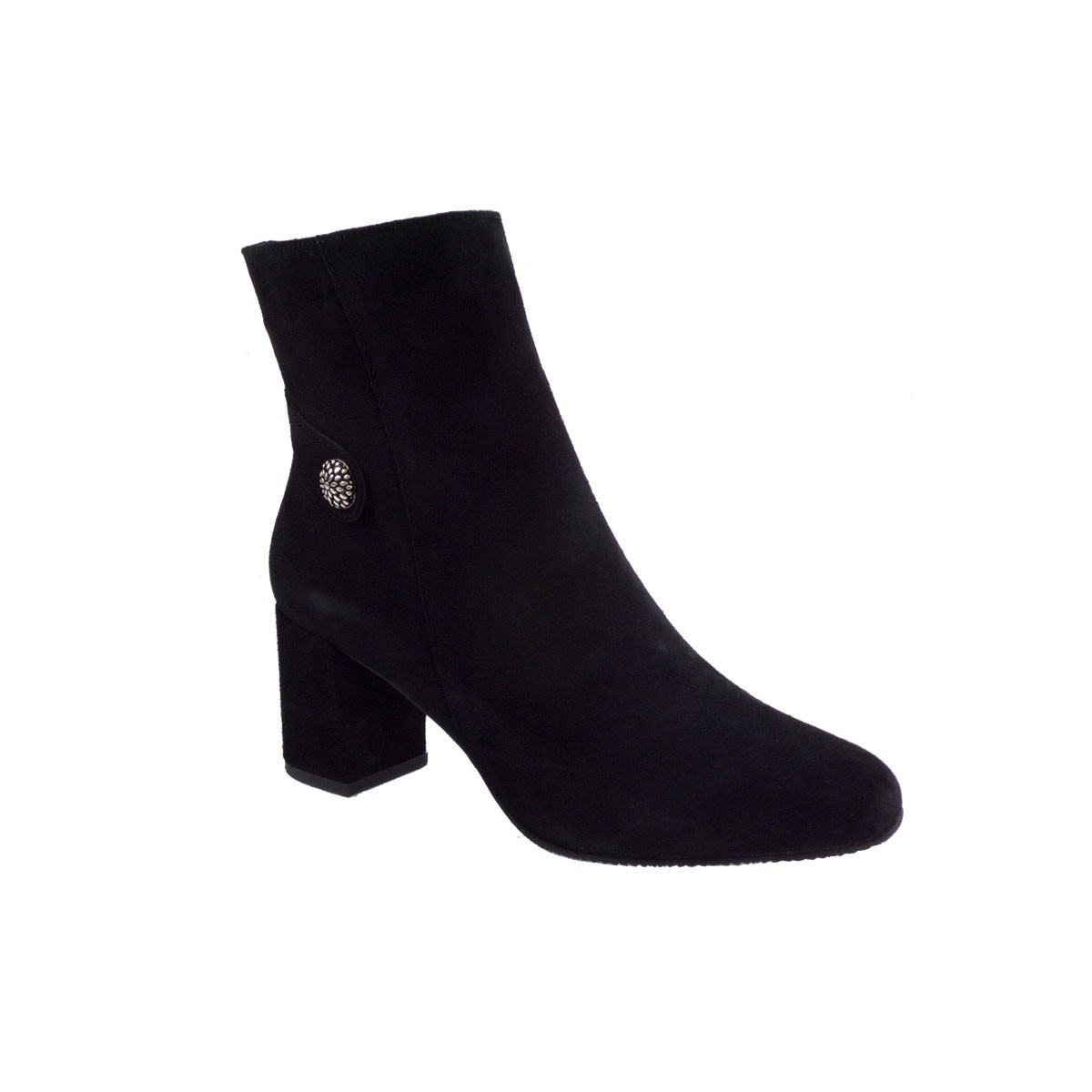 Fardoulis Shoes Γυναικεία Παπούτσια Μποτάκια 1606 Μαύρο Kαστόρι