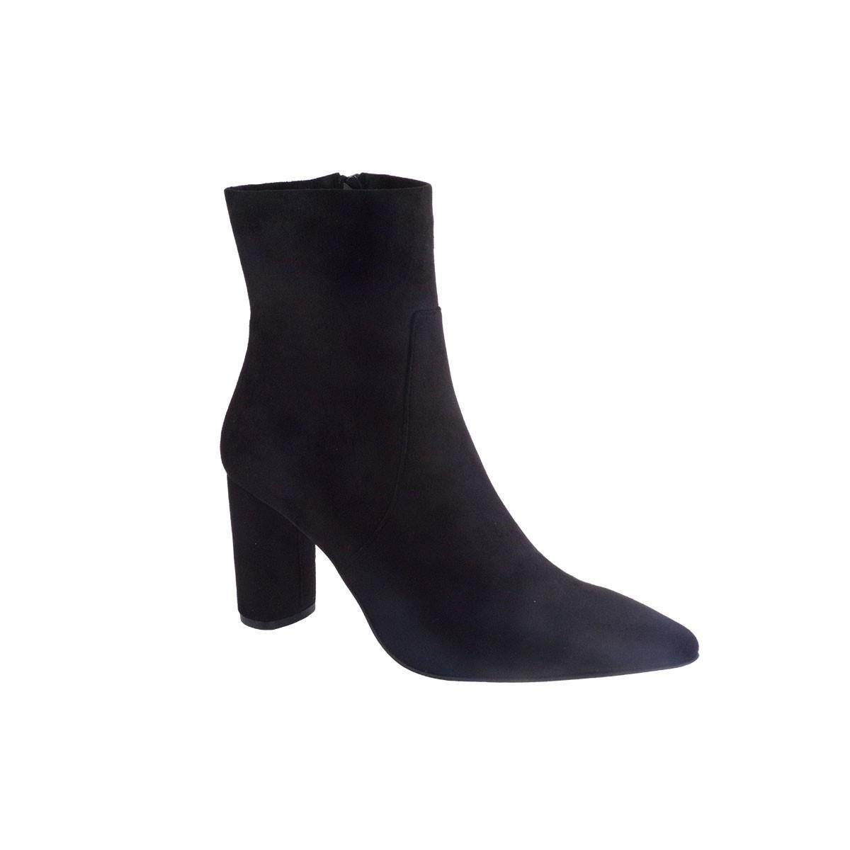 Fardoulis Shoes Γυναικεία Παπούτσια Μποτάκια 4311 Μαύρο Λικρα