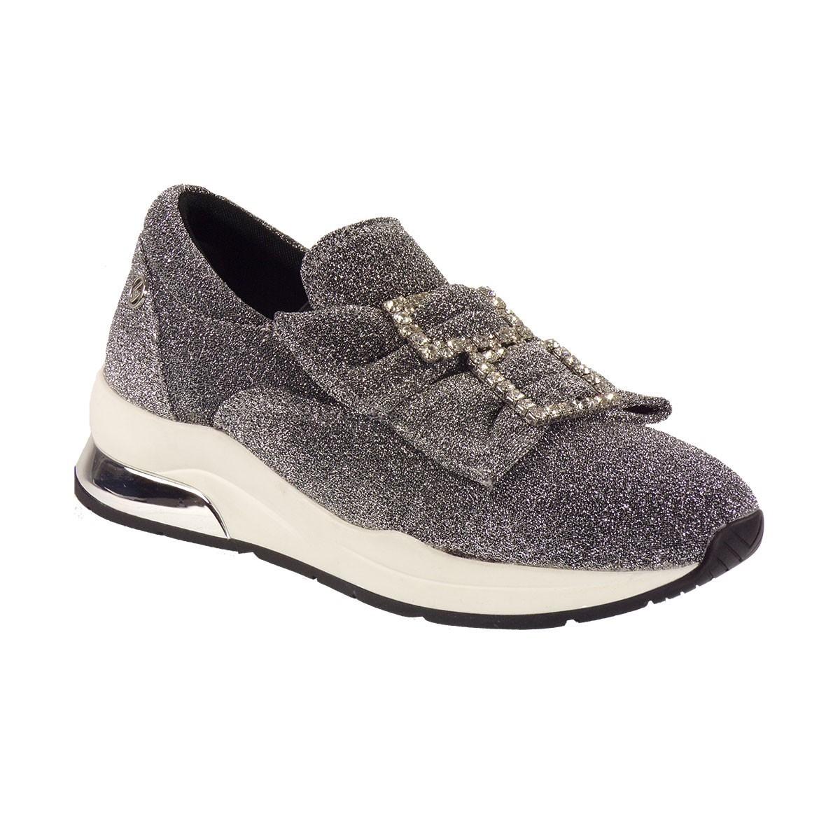 Liu-Jo Sneakers KARLIE 09 SLIP-ON Παπούτσια Γυναικεία B68011 Ασημί 00532