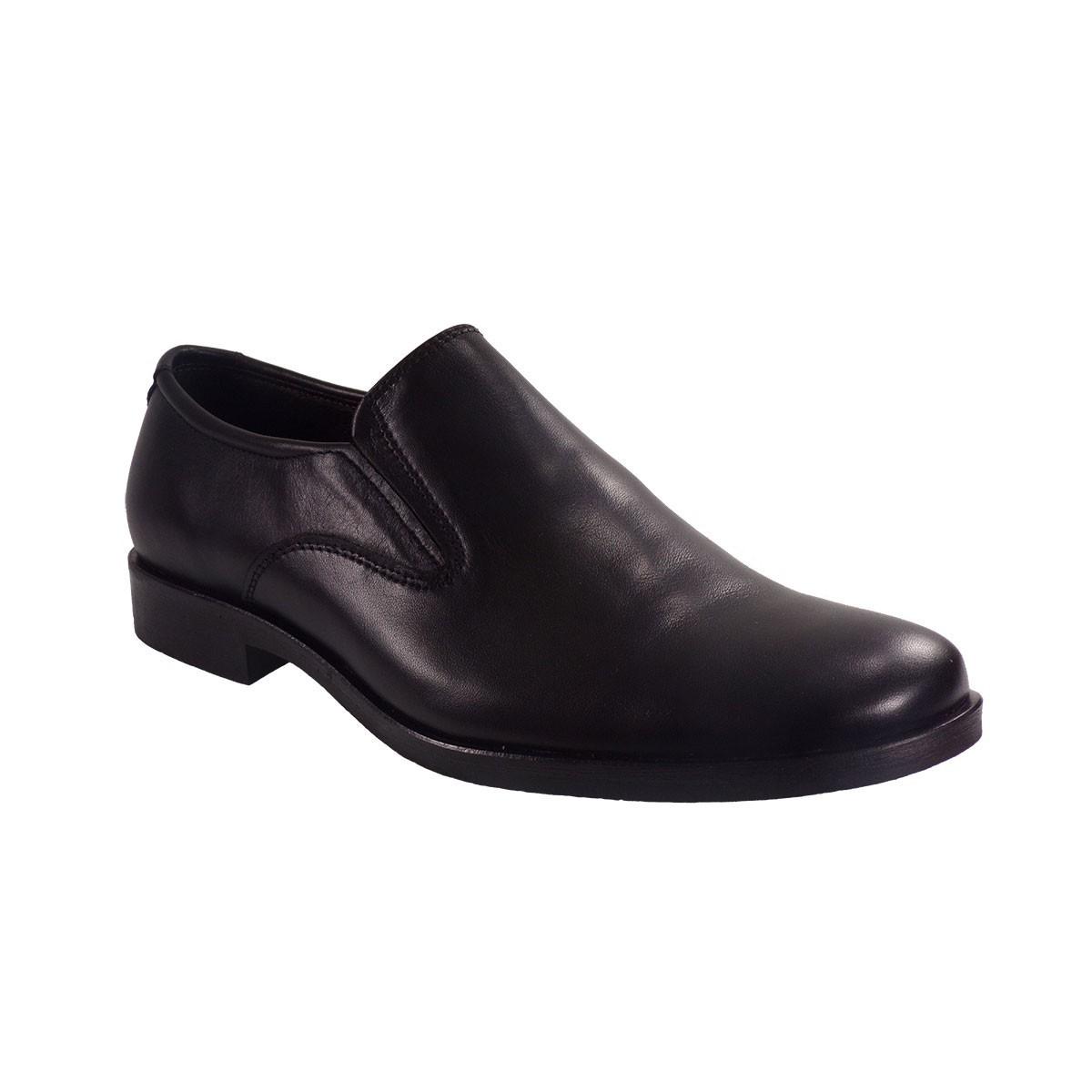 Vero Shoes Παπούτσια Αντρικά 2 Μαύρο Δέρμα