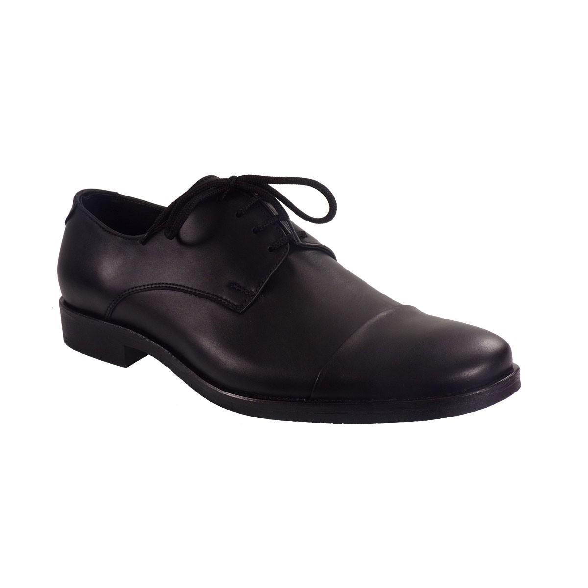 Vero Shoes Παπούτσια Αντρικά 3 Μαύρο Δέρμα