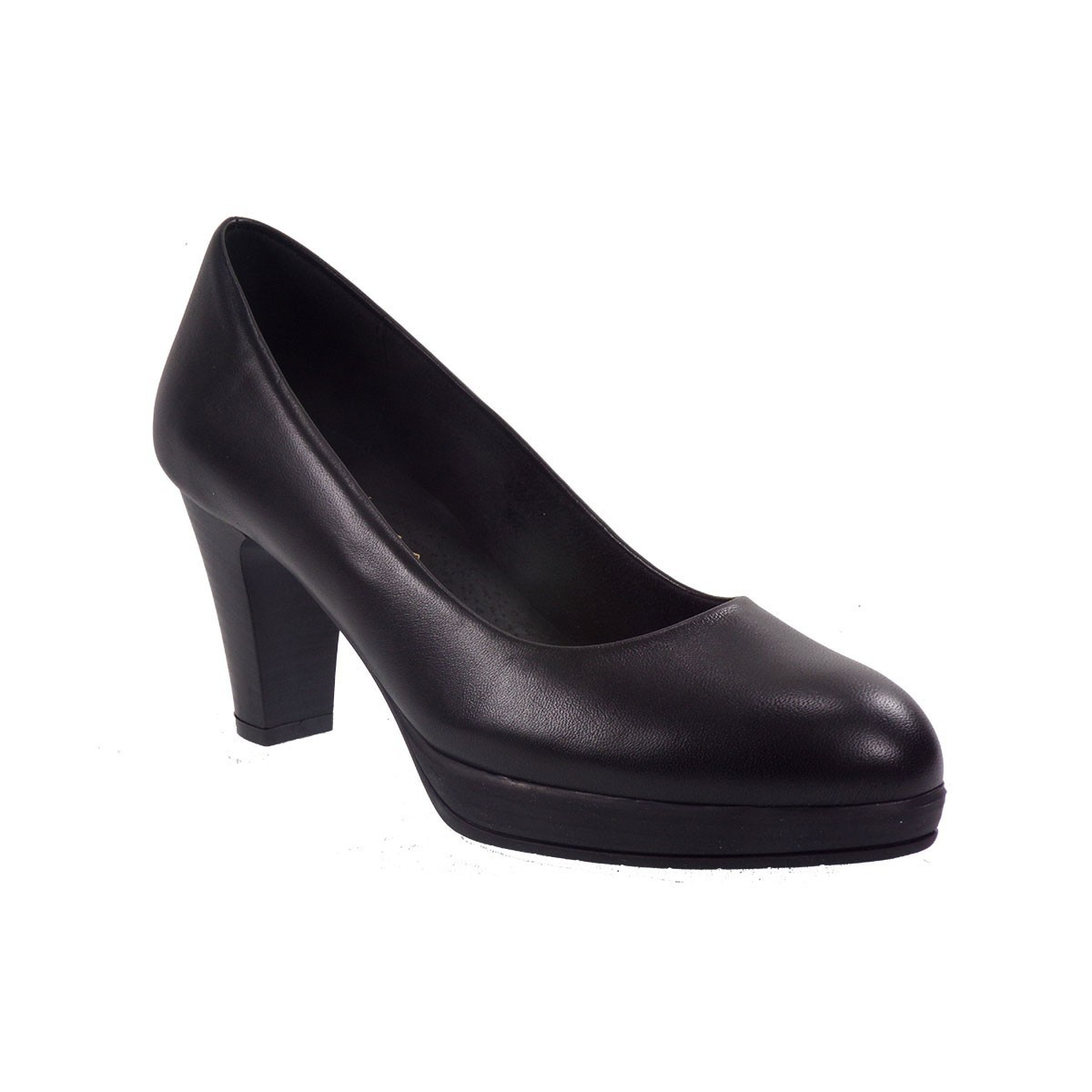 Katia Shoes (Anneto) Γυναικεία Παπούτσια Γόβες KΓΟΒΑ-5098 Μαύρο Δέρμα