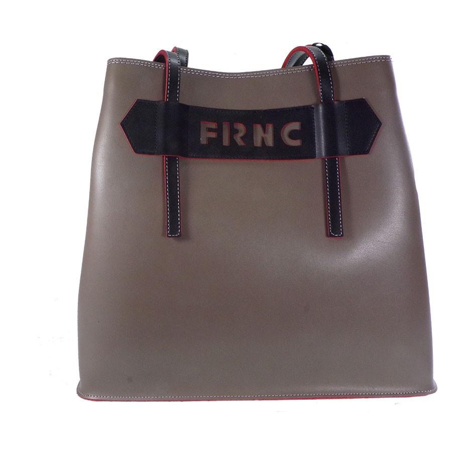 FRNC FRANCESCO Τσάντα Γυναικεία Ώμου 1060 Πούρο Δέρμα  7bd48bbe2f1