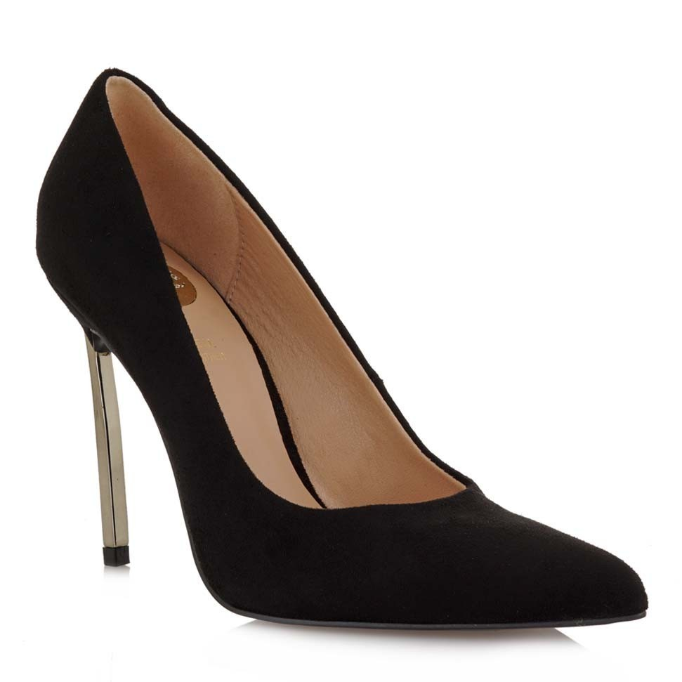 EXE SHOES Γυναικεία Παπούτσια Γόβες 020-BONDA-200 Μαύρο Καστόρι H17000206004