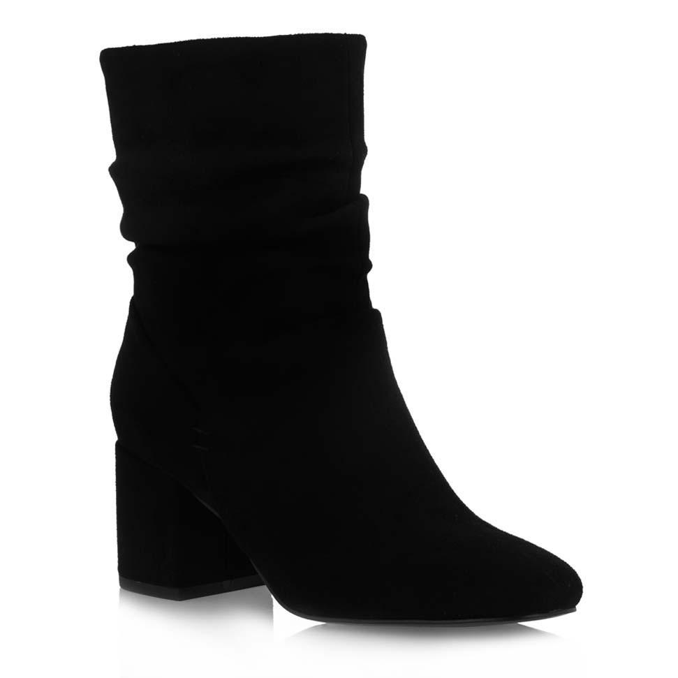 Exe Shoes Γυναικεία Παπούτσια Μποτάκια 053-CHERRY-530 Μαύρo Καστόρι H37000533004