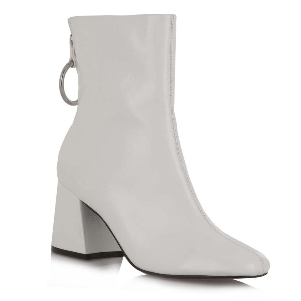 8c7e97831c5 Exe Shoes Γυναικεία Παπούτσια Μποτάκια ANNABEL-677-776 Άσπρο ...