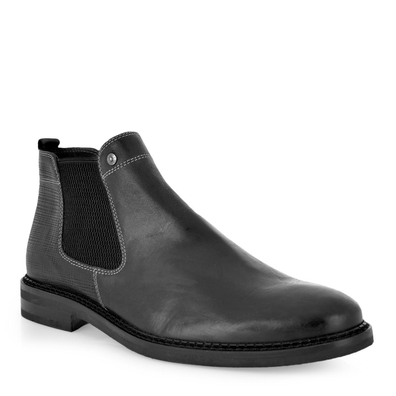 UR1 SHOES Μποτάκια Αστραγάλου Ανδρικά Παπούτσια 638 Μαύρο H589R6382002