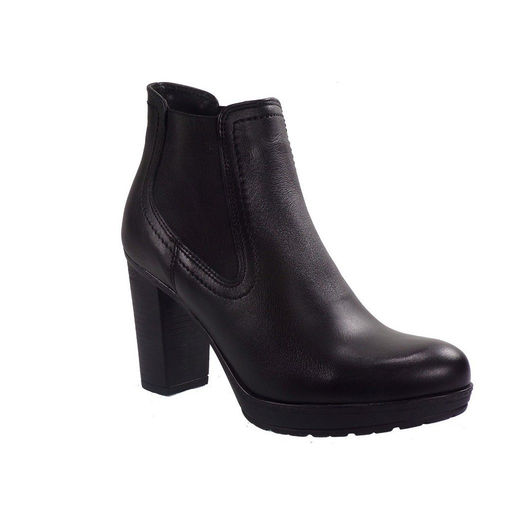 Commanchero Γυναικεία Παπούτσια Μποτάκια 5290-121 Μαύρο Δέρμα