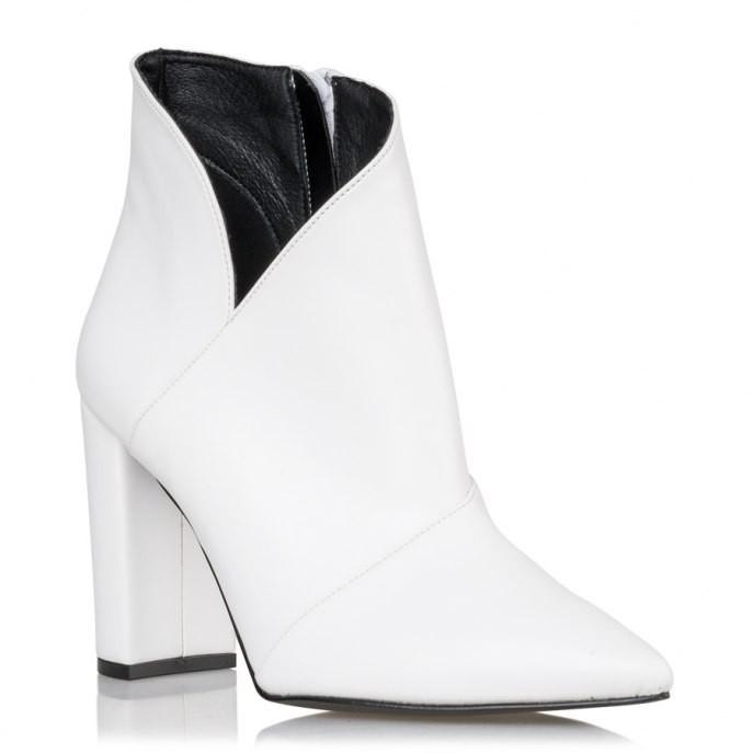 Envie Shoes Γυναικεία Μποτάκια E02-08604-33 Λευκό  bf207ed2656