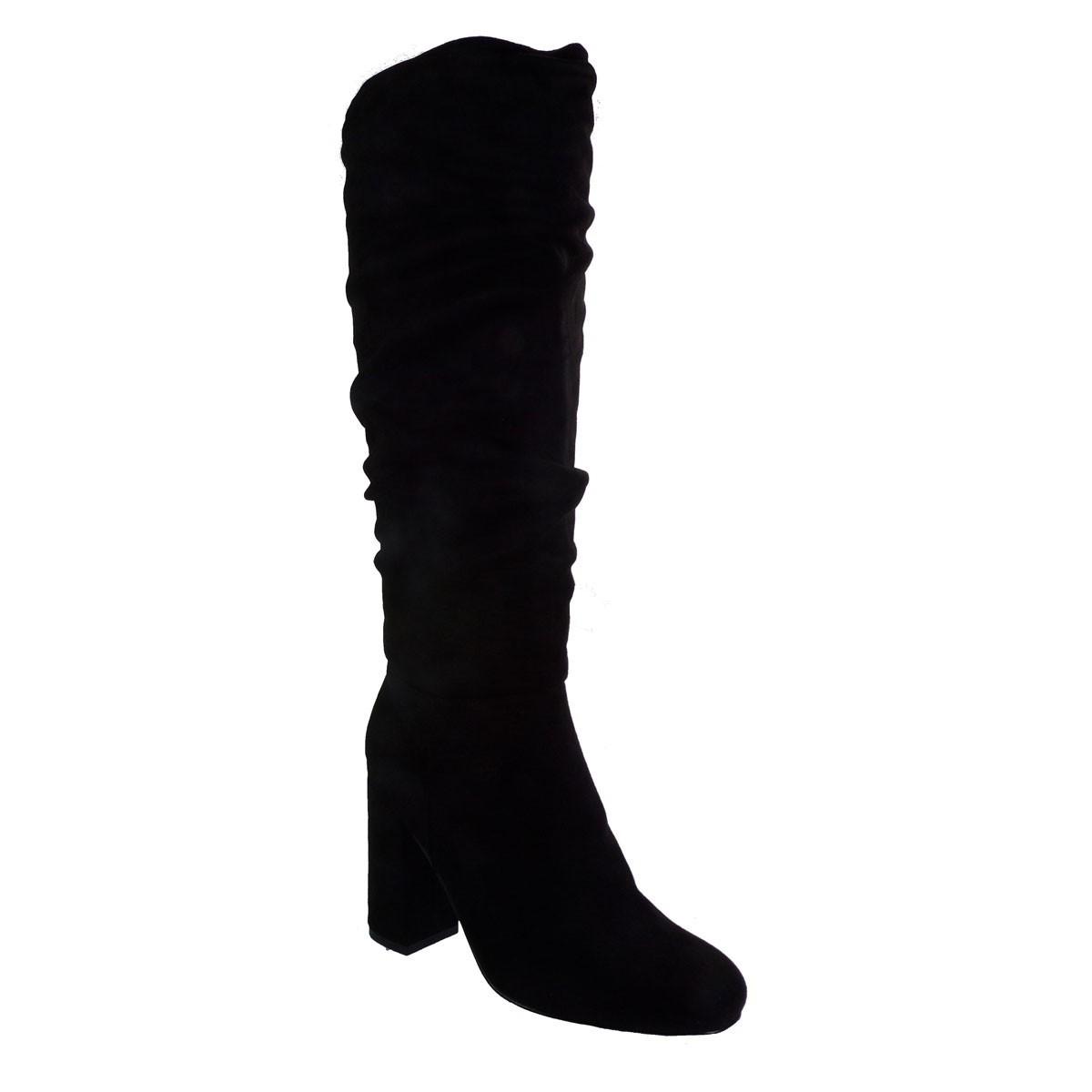 Exe Shoes Γυναικεία Παπούτσια Μπότα CARINA-596 Μαύρo Καστόρι H27005965004