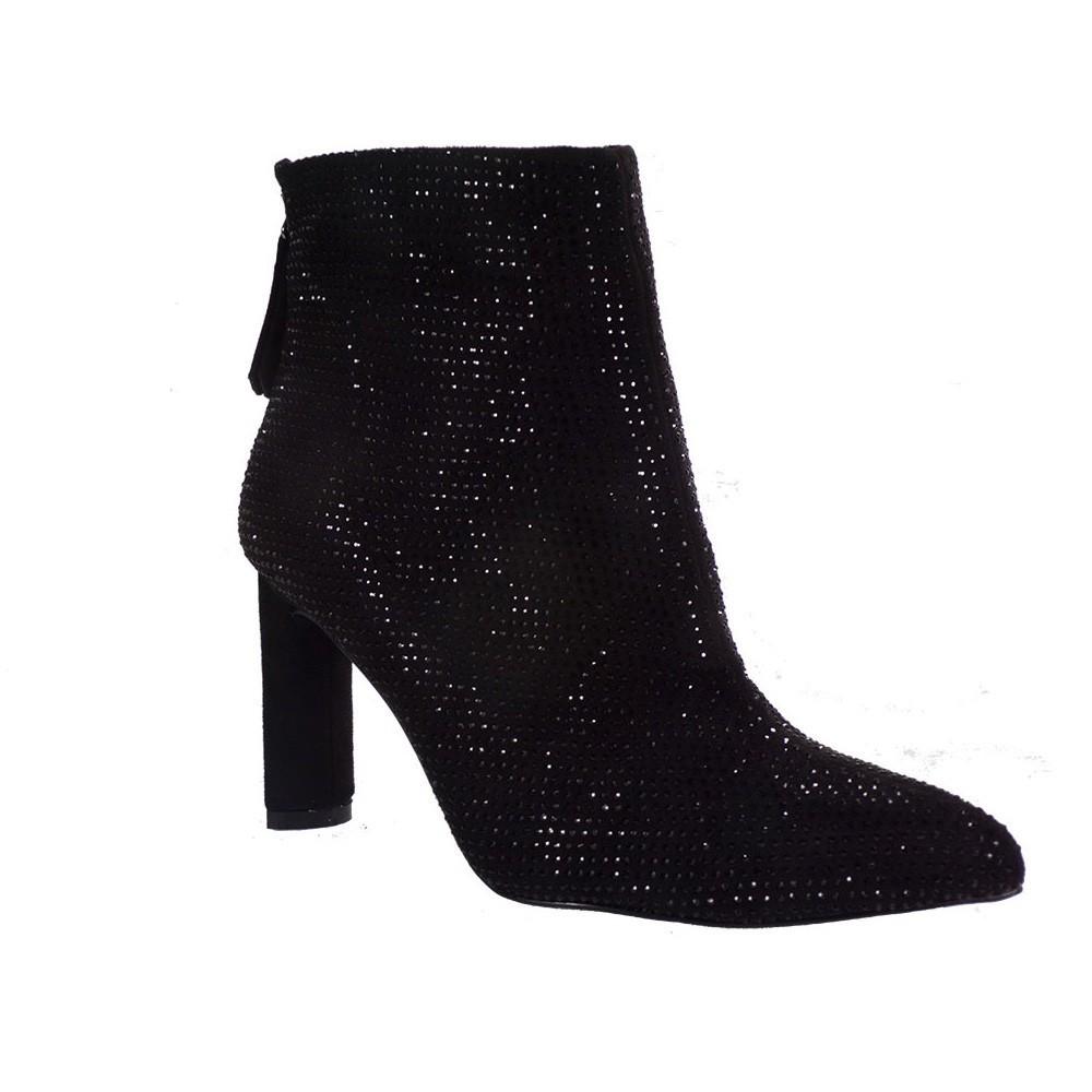 Exe Shoes Γυναικεία Παπούτσια Μποτάκια 324-MIRELIA Μαύρo Στρας  H37003245A9305  fa303fda2e9