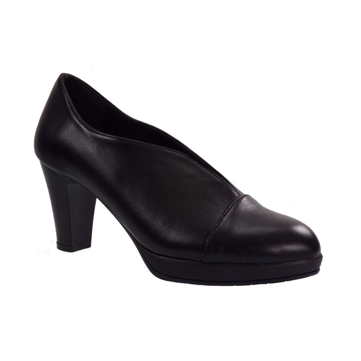 Katia Shoes (Anneto) Γυναικεία Παπούτσια Γόβες K78-5098 Μαύρο Δέρμα