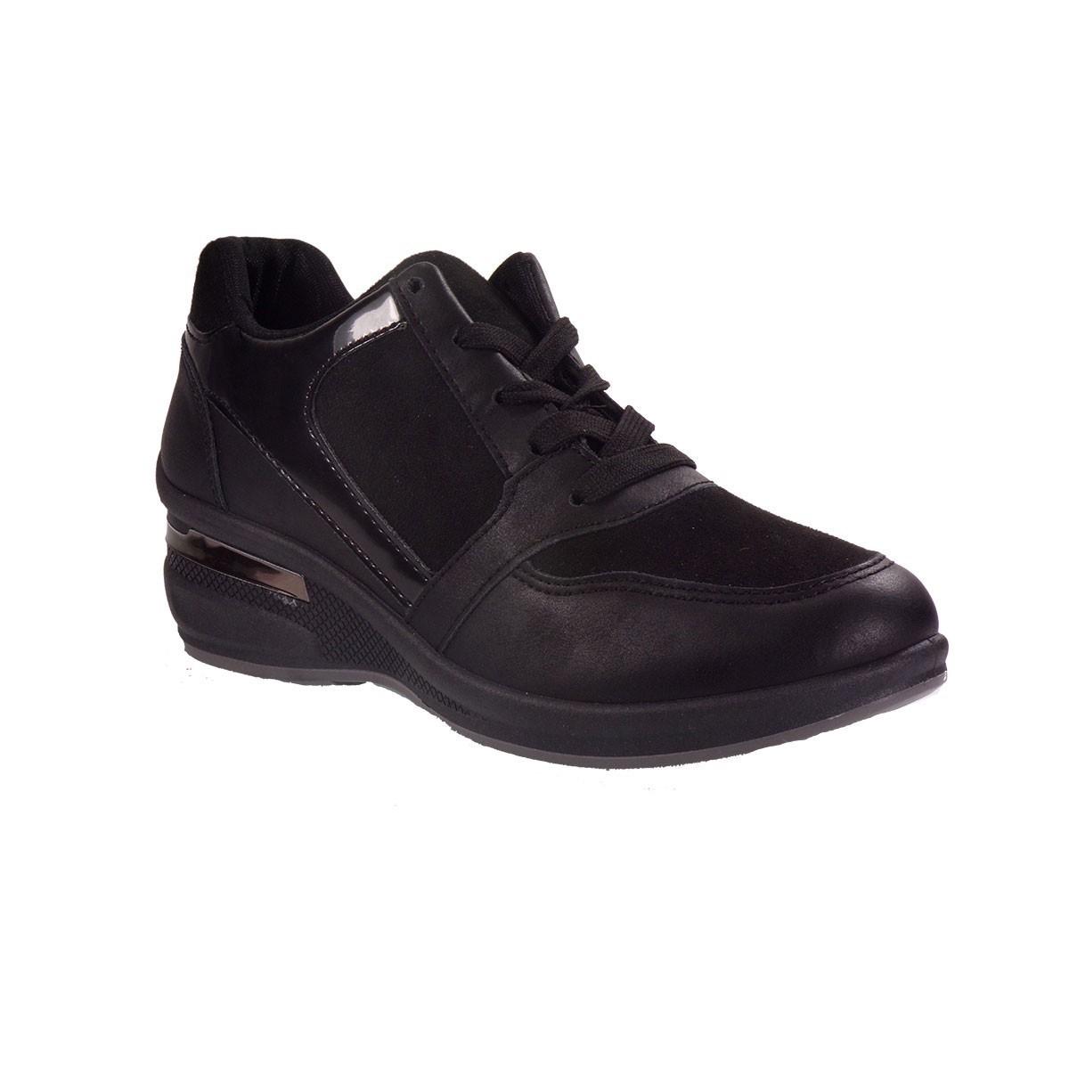 MISS NV Γυναικεία Παπούτσια Sneakers V75-08557 Μαύρο