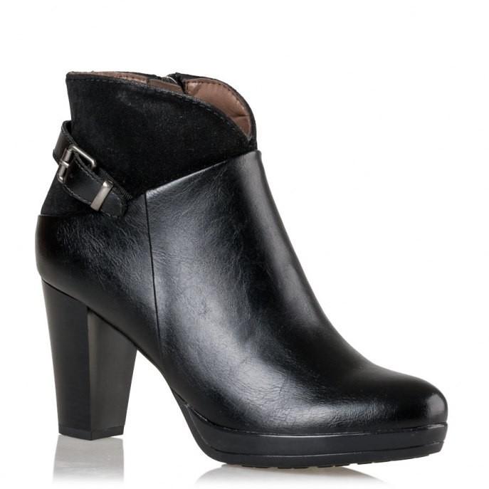 Miss NV Γυναικεία Παπούτσια Μποτάκια V63-08712-34 Μαύρο
