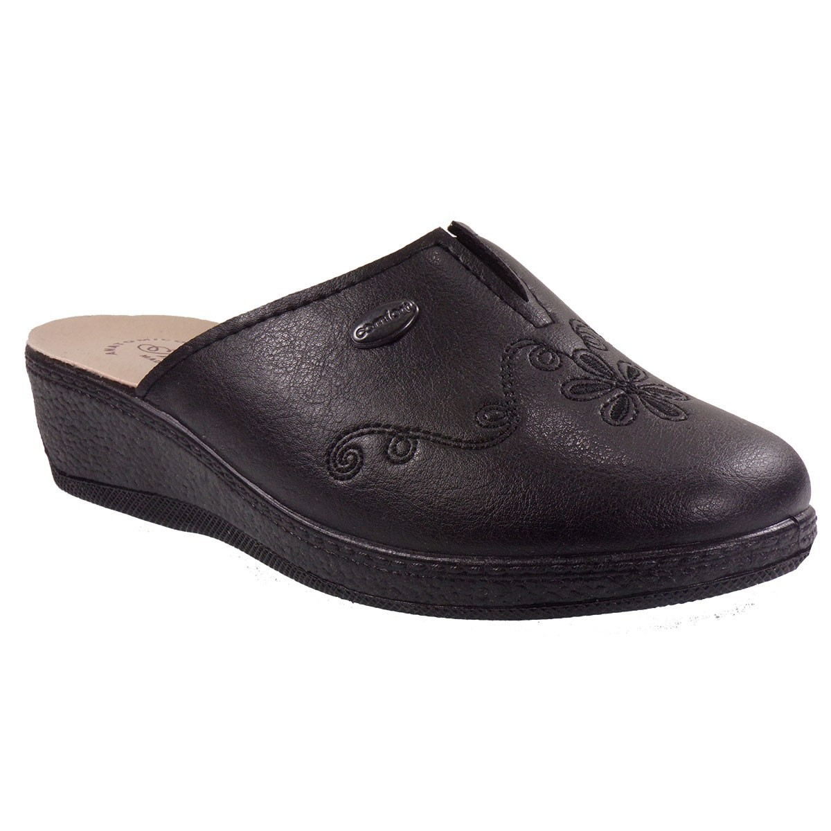 Bagiota Shoes Γυναικείες Παντόφλες annarita-1622 Μαύρο