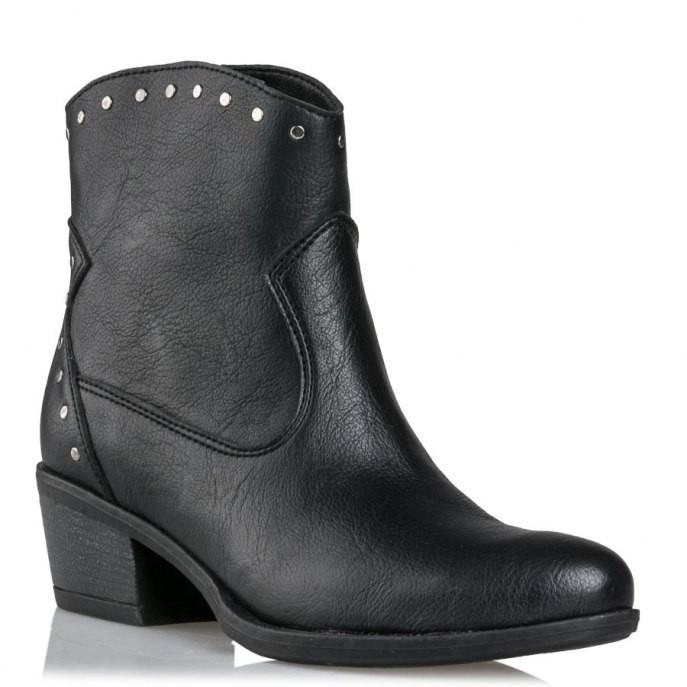 Mairiboo by Envie Shoes Γυναικεία Mποτάκια M03-08300-34 Μαύρο NEVADA