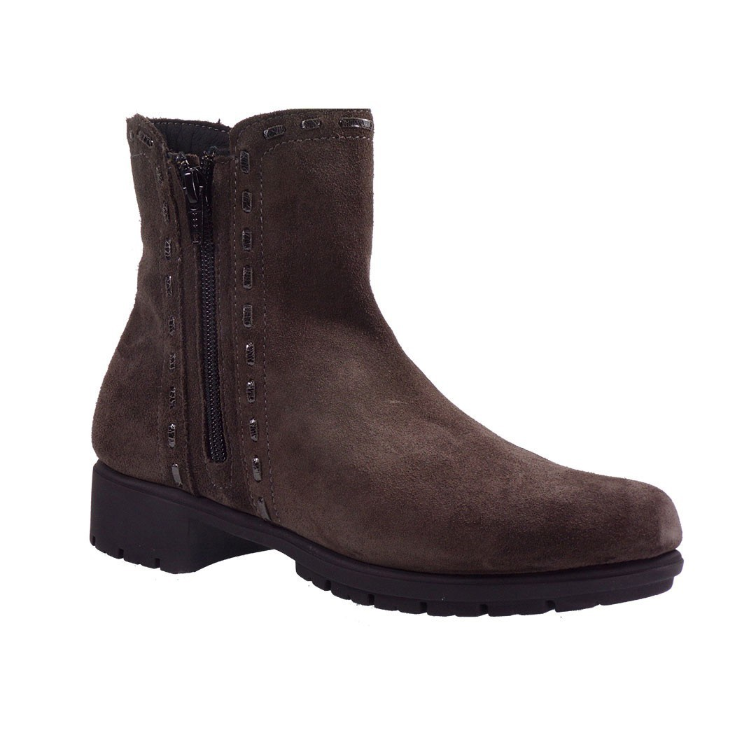 VEROSOFT Γυναικεία Παπούτσια Μποτάκια JUST A DREAM 868280905 Ανθρακί Δέρμα