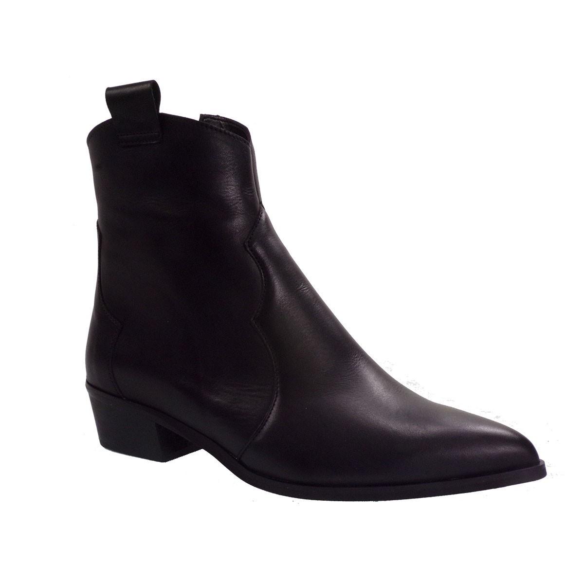 Katia Shoes Γυναικεία Παπούτσια Μποτάκια Κ-113 Μαύρο