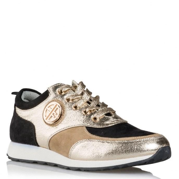 4a1a71c32f1 MISS NV Γυναικεία Παπούτσια Sneakers V27-08603-59 Χρυσό |Γυναικεία &  Ανδρικά Παπούτσια - BagiotaShoes.gr