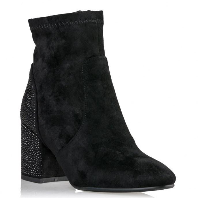 Miss NV Γυναικεία Παπούτσια Μποτάκια V45-08666-34 Μαύρο