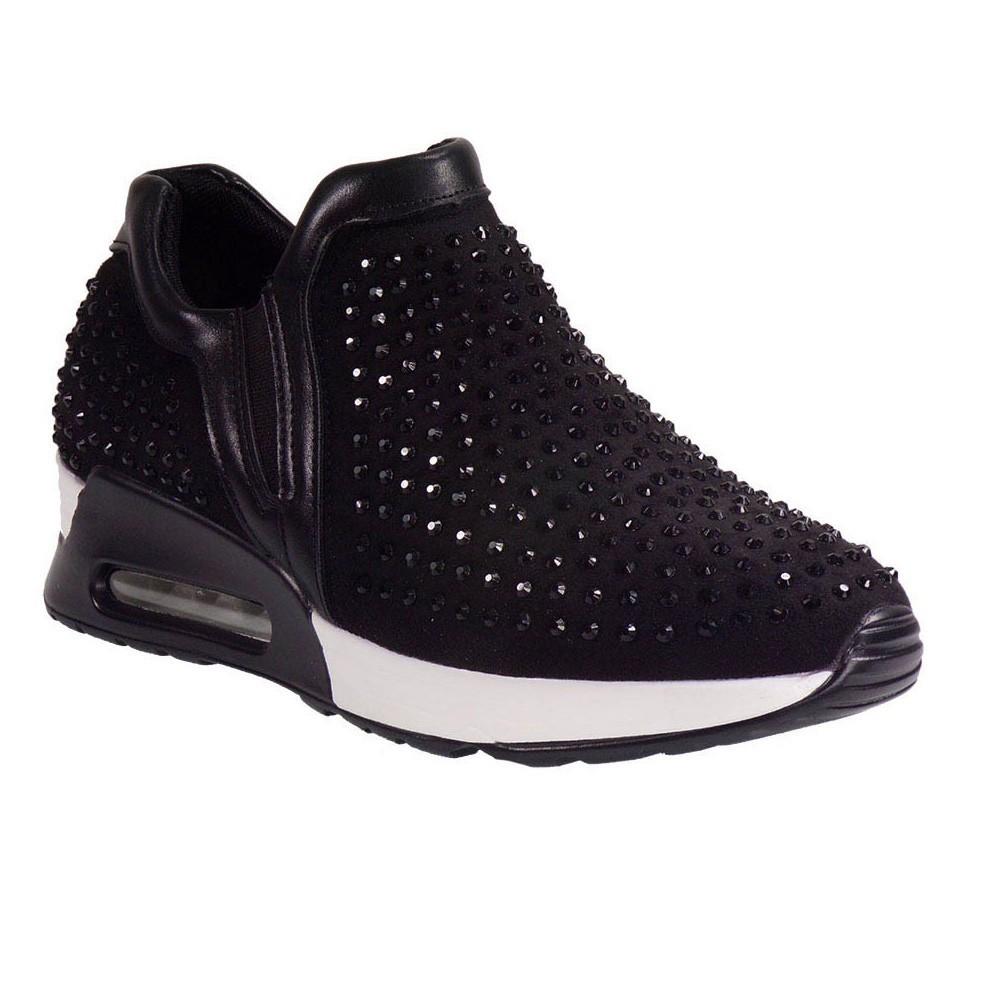 8983e4fd06a Bagiota Shoes Γυναικεία Παπούτσια Sneakers 21202 Μαύρο |Γυναικεία ...
