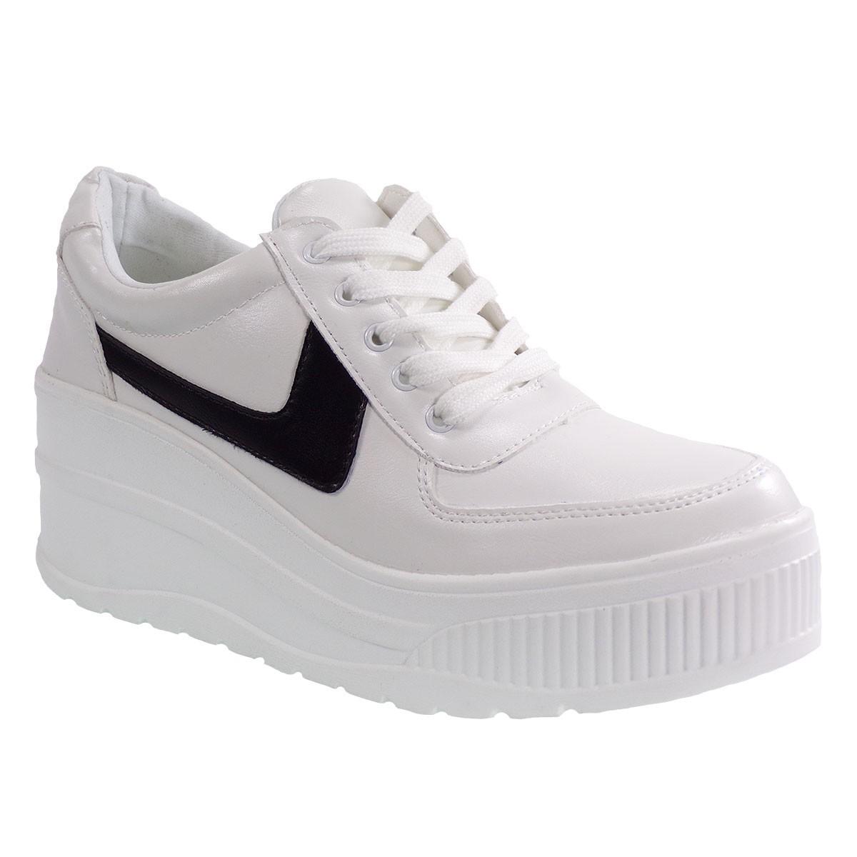 Bagiota Shoes Γυναικεία Παπούτσια Sneakers Αθλητικά H89002-2 Λευκό