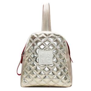FRNC FRANCESCO Τσάντα Γυναικεία Πλάτης-Backpack 1202 Μαύρο-Ασημί Kαπιτονέ.  €79.00. Προσθήκη στο καλάθι · Add to Wishlist loading bdfeb358461
