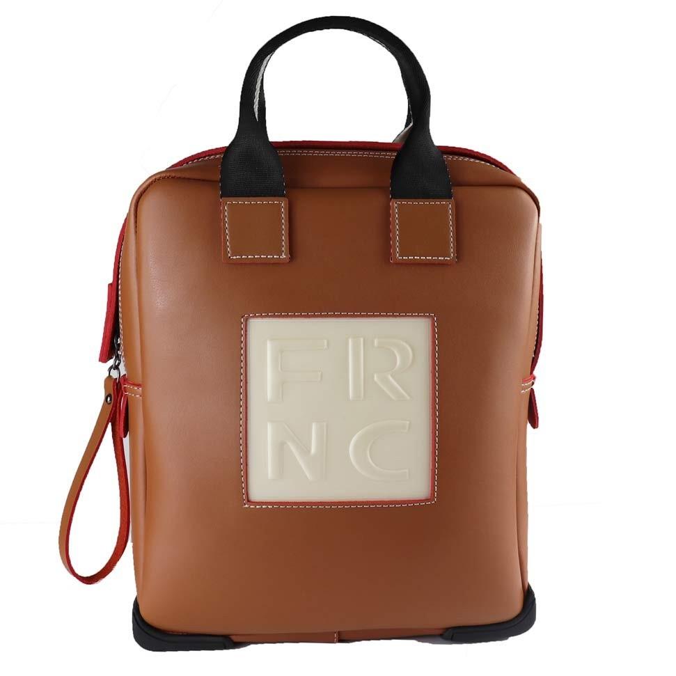 FRNC FRANCESCO Τσάντα Γυναικεία Πλάτης-Backpack 2019 Ταμπά Δέρμα ... 6906a854f70