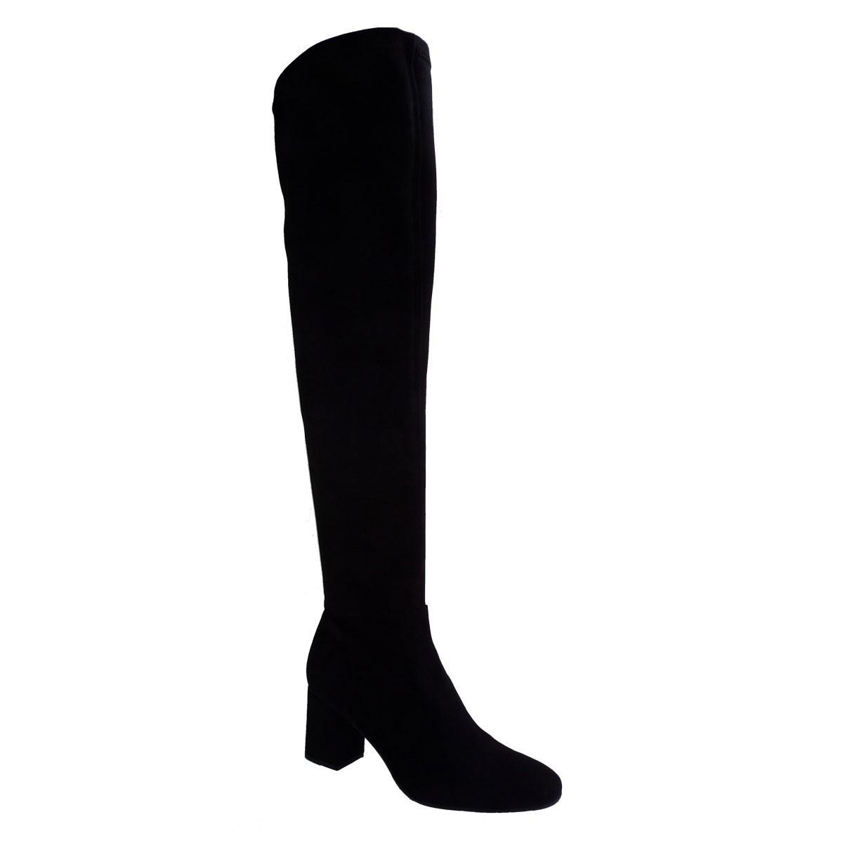 Moods Shoes Γυναικείες Μπότες 3064 Μαύρο Καστόρι