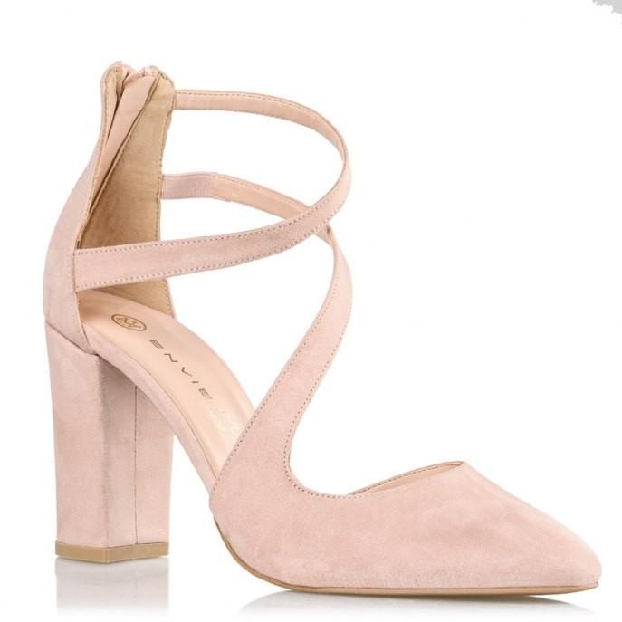Envie Shoes Γυναικείες Παπούτσια Γόβες E02-09080-90 Nude