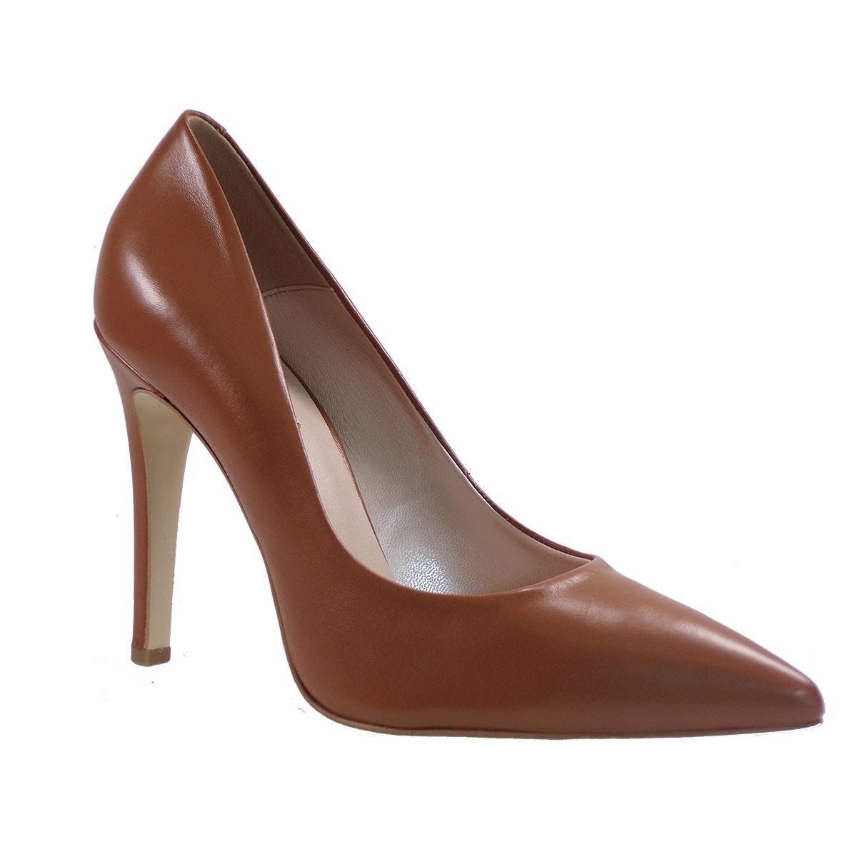 Fardoulis Shoes Γυναικείες Γόβες 2301 Ταμπά Δέρμα