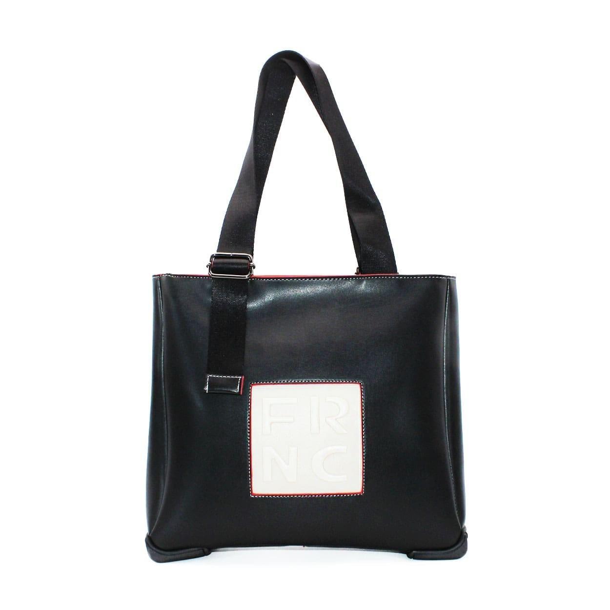 FRNC FRANCESCO Τσάντα Γυναικεία Ώμου 2020 Μαύρο Δέρμα  0dfa0049518