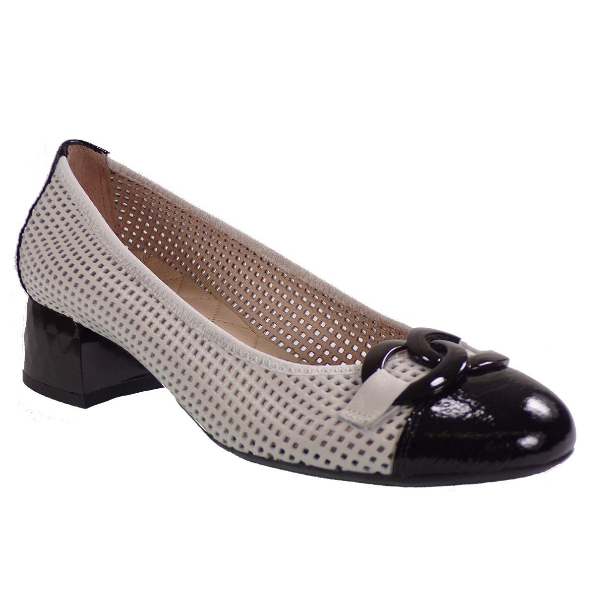 Hispanitas Γυναικεία Παπούτσια Γόβα HV98799 Πάγου Δέρμα