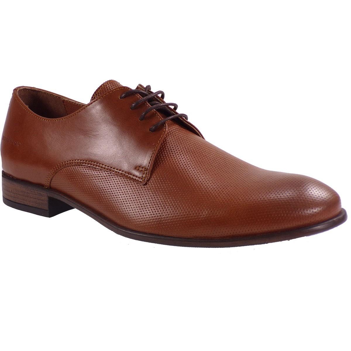 Robinson Ανδρικά Παπούτσια 2044 Ταμπά Δέρμα