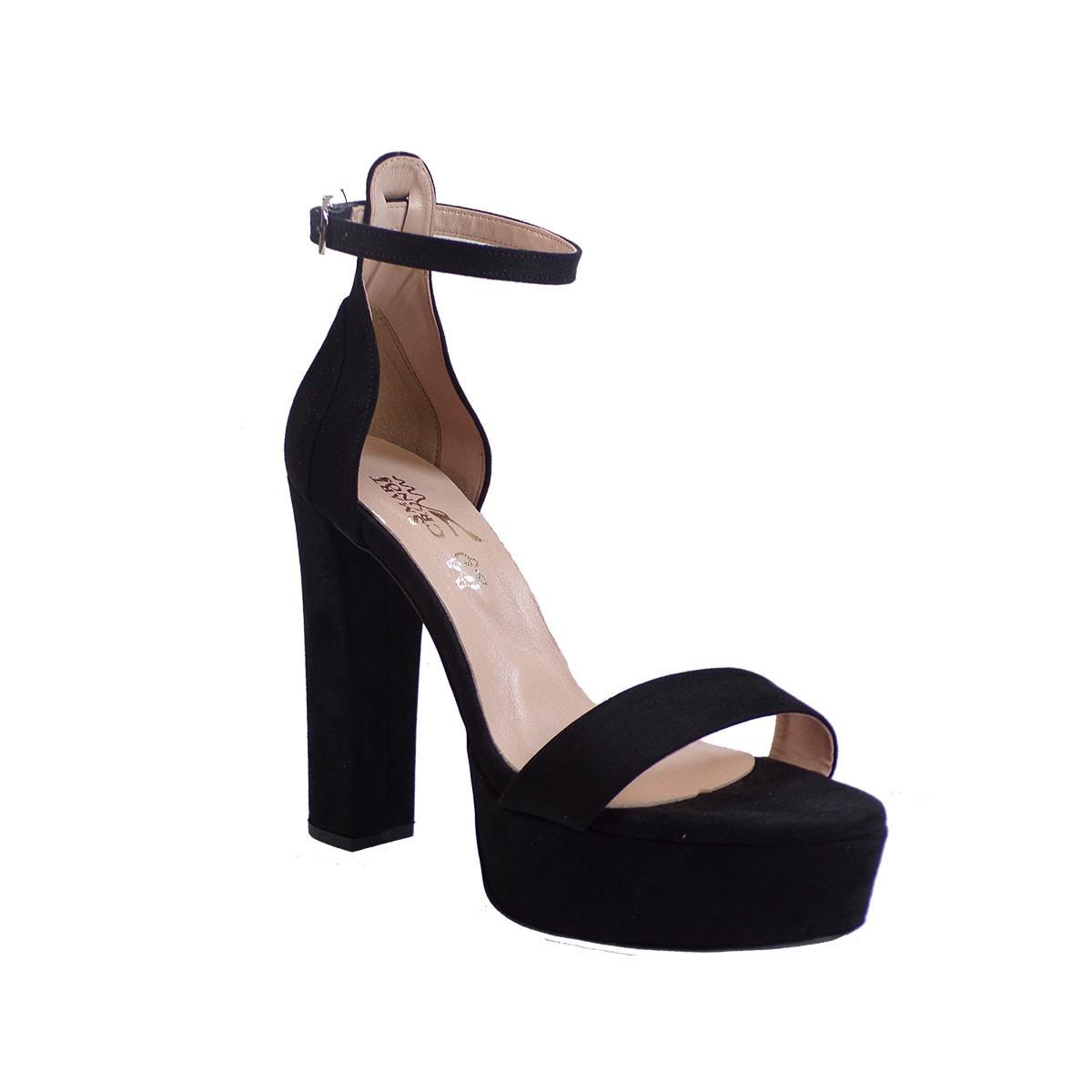 Smart Cronos Γυναικεία Παπούτσια Πέδιλα 6816-3597 Μαύρο Καστόρι -Δέρμα