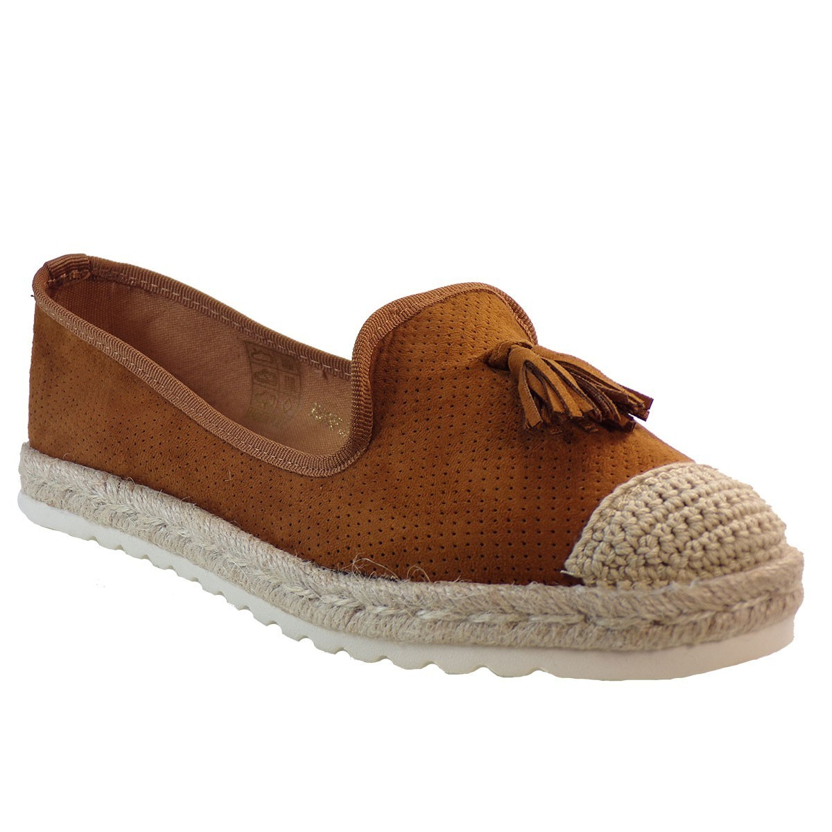 Bagiota shoes Εσπαντρίγιες Γυναικείες HD992 Καμέλ