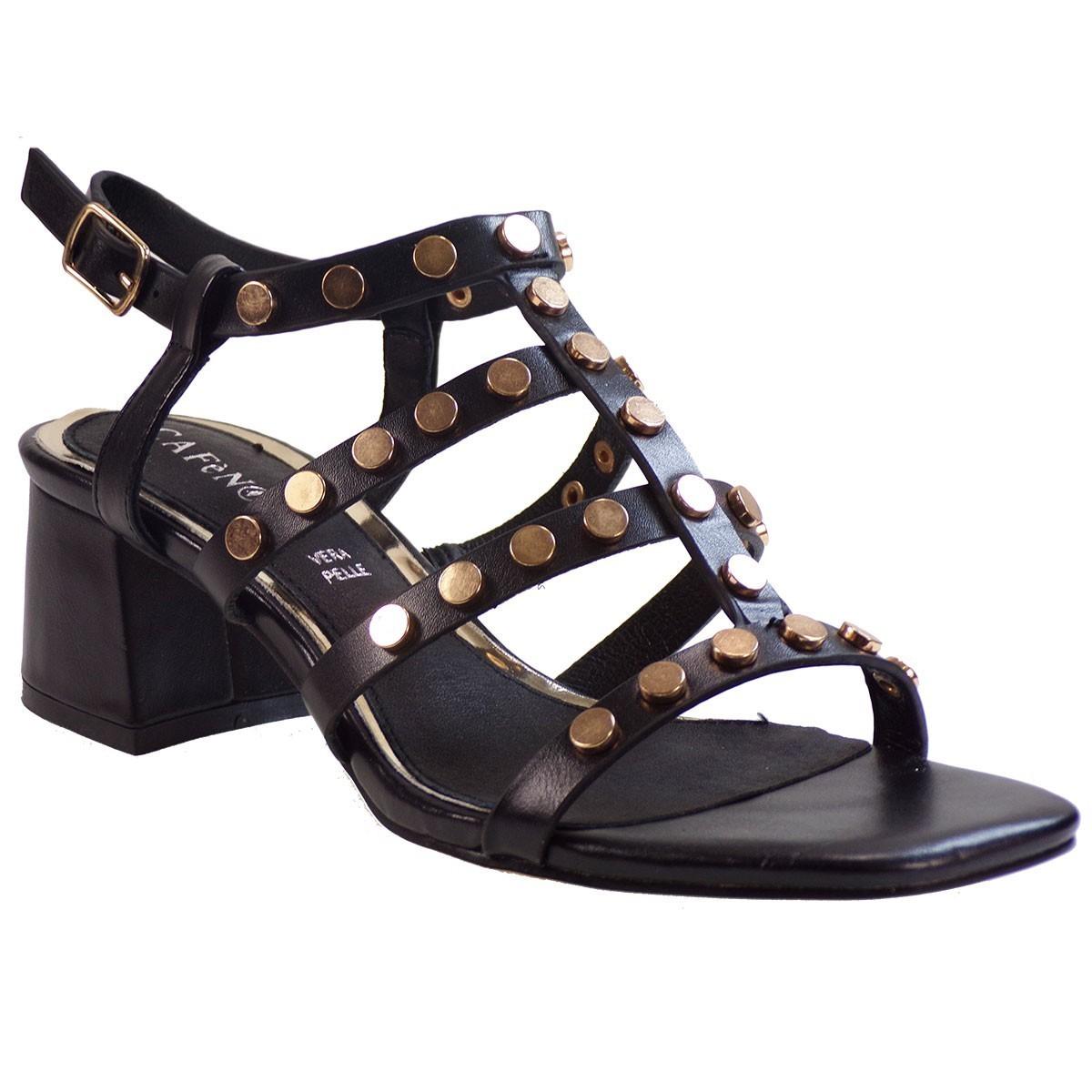 Cafe Noir Γυναικεία Παπούτσια Πέδιλα ILB936 Μαύρο 887292584