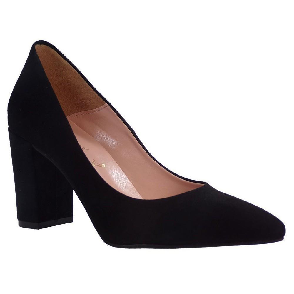 Alessandra Paggioti Γυναικεία Παπούτσια Γόβες 83002 Μαύρο Καστόρι