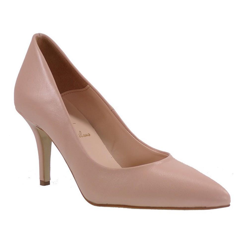 Alessandra Paggioti Γυναικεία Παπούτσια Γόβες 83001 Nude ΜΑΤ