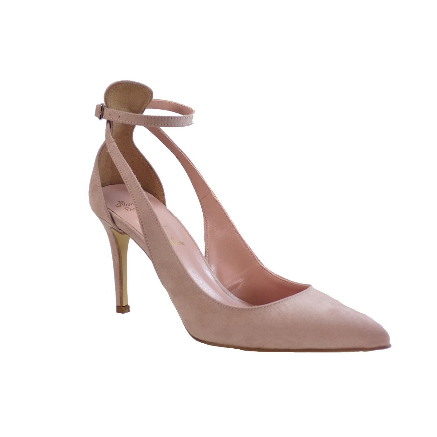 Alessandra Paggioti Γυναικεία Παπούτσια Γόβες 81534 Nude Καστόρι