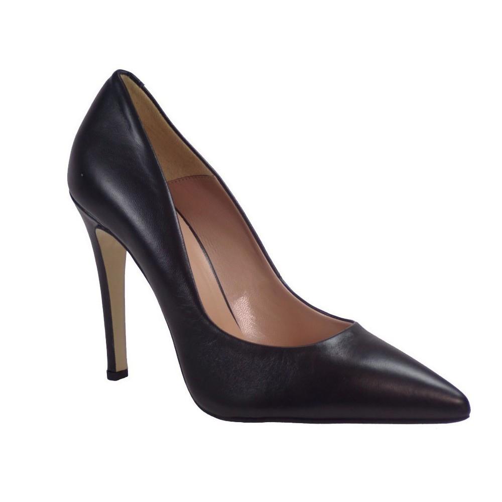 Fardoulis Shoes Γυναικείες Γόβες 2301 Μαύρο Δέρμα
