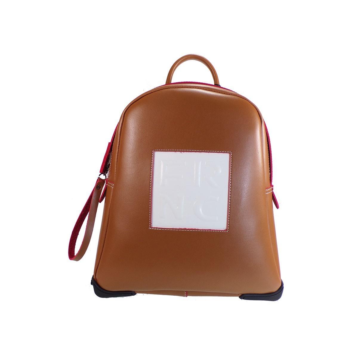 e9e6aa97a7 FRNC FRANCESCO Τσάντα Γυναικεία Πλάτης-Backpack 2023 Ταμπά Δέρμα ...
