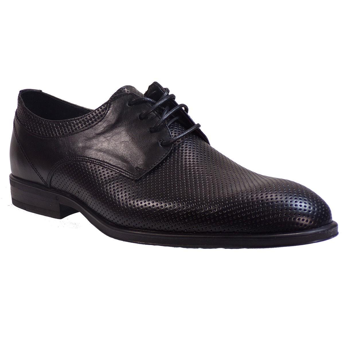 kricket Ανδρικά Παπούτσια 600Λ Μαύρο Δέρμα